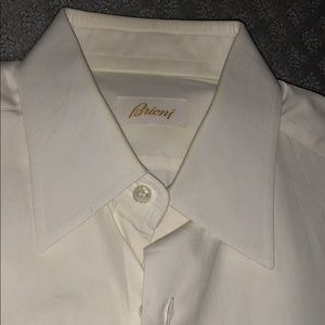 Briono Mens slim fit shirt.  Size 39 / 15.5.